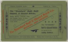Catalogue of the Standard Brick Company,...