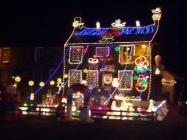 Pantperthog Christmas Lights