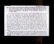 Dowlais Bessemer agreement