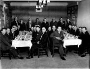 SWS 1963 Foremen & Staff Dinner