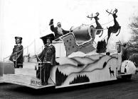 AN EARLY VERSION OF THE S.W.S CHRISTMAS SLEIGH