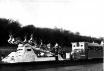 SWS CHRISTMAS SLEIGH AND CASTLE, YEAR UNKNOWN