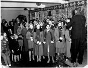 THE SWS 1961 CHRISTMAS CHOIR