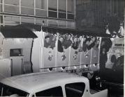 SWS CHRISTMAS SLEIGH IN ABERDARE 1959
