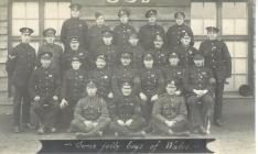 Photograph of Tom Williams and other Welsh...