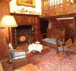 The Hallway, Nantclwyd y Dre, depicting the 1940s