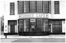 Photograph of the Corner Café, West Parade c.1940s