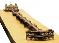 Model of Rhyl Pier as it was in 1880
