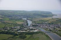 Aerial view of Cardigan, 2006