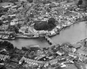 Aerial view of Cardigan, 1932