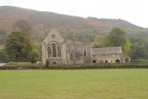 Valle Crucis Abbey as it appears today