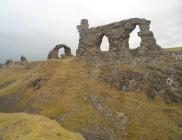 Dinas Brân Castle as it appears today