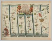 Ogilby's Britannia Vol 1 Plates 1, 2, 3