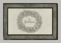 Memorial Card cover for John Hughes