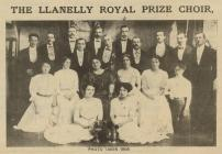 Llanelly Royal Prize Choir 1909