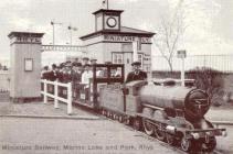 Postcard of the Miniature Railway, Rhyl, c.1911