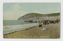 aber lifeboat postcard front