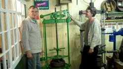 Cheese Press at Memory Lane Museum