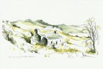 Drawing of Gorllwyn Uchaf  by Falcon Hildred