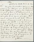 Copy of a Rebecca letter threatening William...
