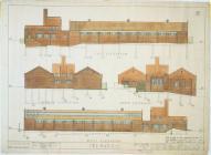 Bath House drawings for Ocean Deep Colliery