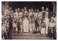 The wedding of locals from the village of Lushai