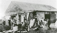 The workshops at Cefn Quarry.