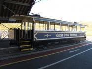 Tram at Halfway Station, Great Orme, Llandudno