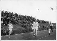 UCW Aber Penglais running track, Oxford v Aber