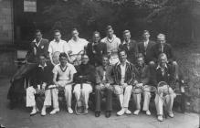 Tennis group Aberystwyth University, 1950s