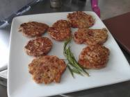 Corned Beef Fritters made with WW2 rations