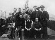 The crew of Camroux III