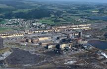 Margam Steelworks in Port Talbot, 1995