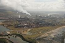 Margam Steelworks in Port Talbot, 2007