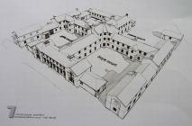 Architectural drawing of Llanfyllin Workhouse