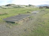 Rocket Test Track Bases, Ynyslas