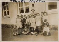Talley school pupils 1947