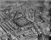 Aerial view of Neath, 1929