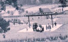 Children enjoying Pontypool Park