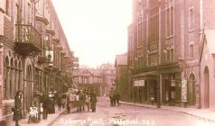 Osborne Road with Theatre Royal and Wildings