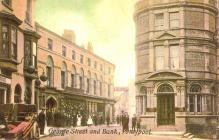 George Street, The Bank and Fowler's,...