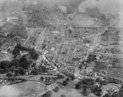 Aerial view of Blaenavon, 1932