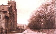 View along Hanbury Road, Pontypool