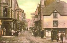 George Street - The Cross, Pontypool