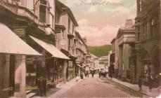 Crane Street by The Jubilee Building, Pontypool