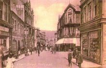 Crane Street above Manchester House, Pontypool