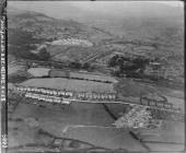 Aerial view of new housing at Pontypool, 1948