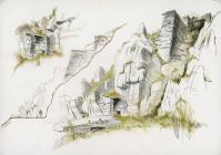 Rhosydd drum house to Croesor incline, 2003