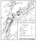Map showing the development of Porth Amlwch