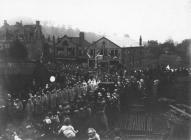 National Eisteddfod Parade through Pontypool, 1924